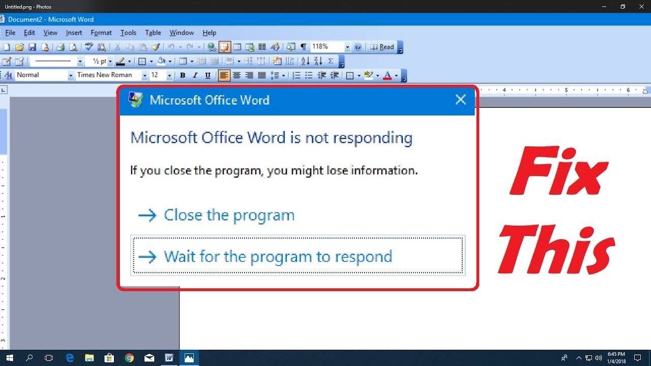 Microsoft Word not Opening|Microsoft Word not Responding on Mac ,Windows