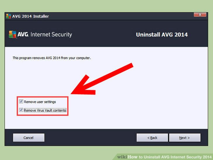 How to delete avg antivirus from my computer
